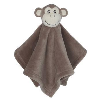Weiches Schmusetuch - Affe - mit Bestickung individualisierbar